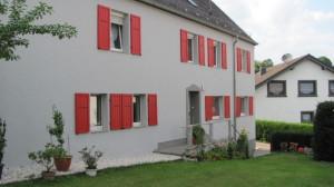 Fassadenreinigung Klein, Holzfassade Blankenheim, Harald Klein Wärmedämmung